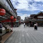 Bentenyamamiyakozushi - 静かな仲見世商店街