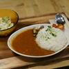 うのまち珈琲店 - 料理写真:カレーセット大盛り ひき肉とトマトのカレー