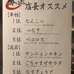 CHICKEN CREW - メニュー(店長オススメ)