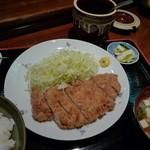 とん亭 - とんかつ定食850円