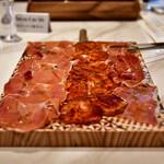 La Coquina cerveceria - イベリオ豚の生ハム盛り合わせ