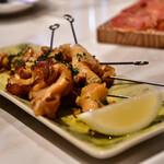 La Coquina cerveceria - 燻製ツブ貝のプロチェッタ