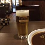 タンタン - 生ビール