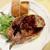 パリ4区 - 料理写真:厚切り豚ロース肉のソテー