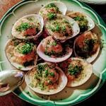 Dame-Jeanne - 蛤のオーブン