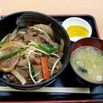 彩キッチン 輪厚亭 - 料理写真:ジンギスカン丼