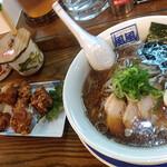 風風ラーメン - 料理写真:バリコク醤油