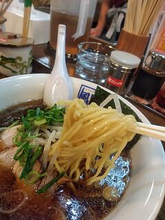 風風ラーメン - バリコク醤油