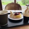 道の駅「三芳村」鄙の里 - 料理写真:コーヒーゼリーとチーズすふれセット