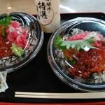 松島さかな市場 - ネギトロいくら丼