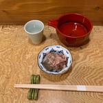 企久太 - 料理写真:ぴりからこんにゃく(お通し)