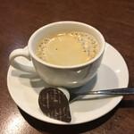 ムッシュふらいぱん - 食後のコーヒー