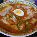 札幌カリーぱお - 料理写真:エスニックチャーシュー麺