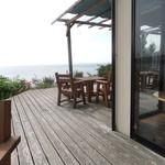 海の見えるカフェ - 海が見えるテラス