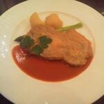 Brasserie & Cafe Le Sud - 選べるメインディッシュ スペイン産豚肩ロース肉のピカタ アスパラガス添え
