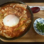 udon.おりはら - 料理写真:'20/06/13 豚キムチうどん(税込780円)
