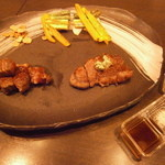 鉄板焼 ろじ - 本日のステーキ (美味!!)
