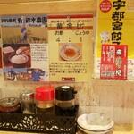 悟空 - お勧めのタレは酢+醤油
