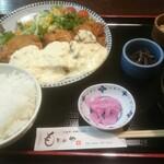 もりのや - 料理写真:チキン南蛮定食(900円)
