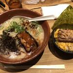 風の杜 - 料理写真:黒風 チャーシュー丼(小)