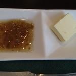 ビストロ プティル - 自家製の青梅のジャムとバター♪