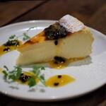 スペイン料理Pablo - バスクチーズケーキ