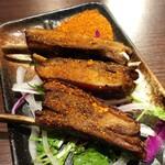 小肥羊  - モンゴル風串焼きラム肉のスペアリブ(100g)780円
