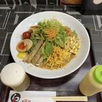 天風堂 - 天風堂オリジナル クロレラ入り中華冷麺♪