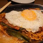 鉄板焼 みつい - ちゃんぽん麺のナポリタン