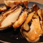 鉄板焼 みつい - 牡蠣バター焼き