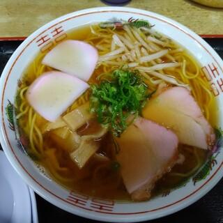 柳川 - 料理写真:ラーメン(しょうゆ?小)