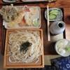 田舎や - 料理写真:天ざるうどん(1400円)