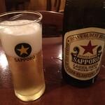 OSTERIA il FUOCO - ビール670円
