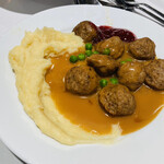 イケアレストラン - スウェーデンミートボール 8個