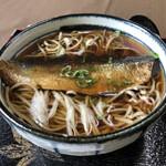 蕎遊庵 - にしん蕎麦1250円税込