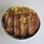 つけもの茶屋 - 駒ヶ根で有名なソースかつ丼のソースを使ったソースかつ丼もご用意しています。