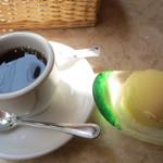 TUTTI - ランチBセットのコーヒー&デザート