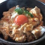 茅ヶ崎 そば処 榮家 - 親子丼