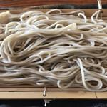 茅ヶ崎 そば処 榮家 - セットの冷たい蕎麦
