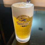 呉 ハイカラ食堂 - 生ビール 500円。