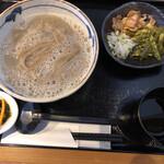 愿屋 - 釜揚げ蕎麦