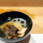 うを徳 - 長崎ウツボと熊本新蓮根のお椀