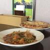 インド・ネパール料理 アヴィヤン - 料理写真:まかないランチ。ナンはチーズナンに変更