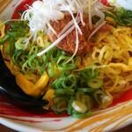 福ちゃんラーメン - 料理写真:美味しいけどもう少し金糸卵をばらしてくれてたら嬉しいですね♪