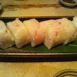 13153360 - 目鯛の棒寿司