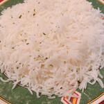 インド料理 インディアンハット - スペシャル南インドセット バスマティライス