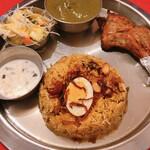 インド料理 インディアンハット - スパイシービリヤニランチ 1200円 辛さ4