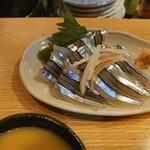 ざわさん - キビナゴ酢みそ300円