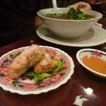 Ha Lang Son - 生春巻きとフォー・ボーのセット1050円
