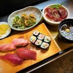 ぎふ初寿司 - 料理写真:まぐろ尽くし定食